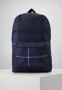 Barbour - TARTAN BACKPACK - Rucksack - ink - 0