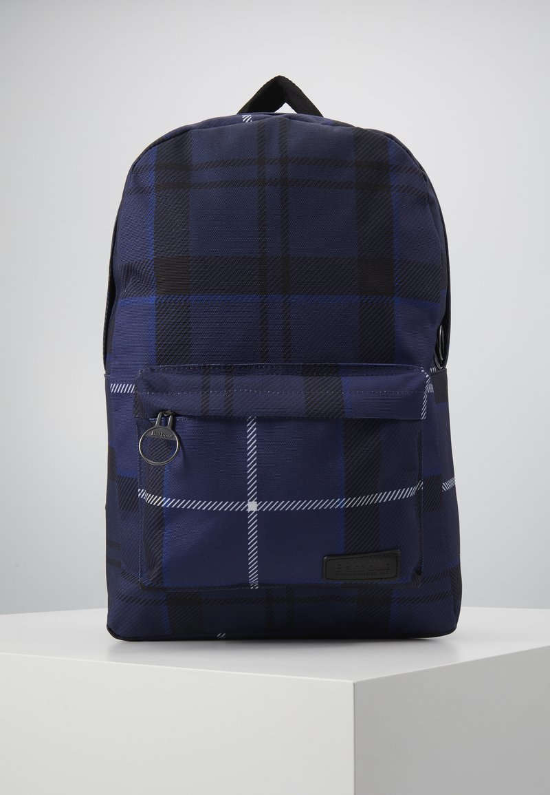Barbour - TARTAN BACKPACK - Rucksack - ink