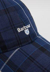 Barbour - TARTAN SPORTS  - Kšiltovka - ink tartan - 2