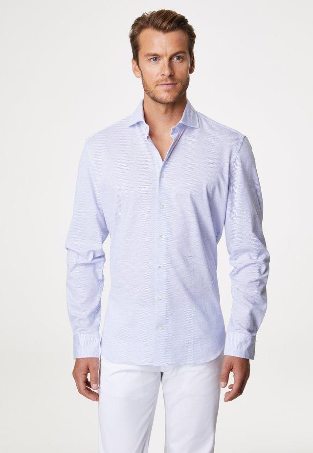 HENRY - Shirt - white/blue