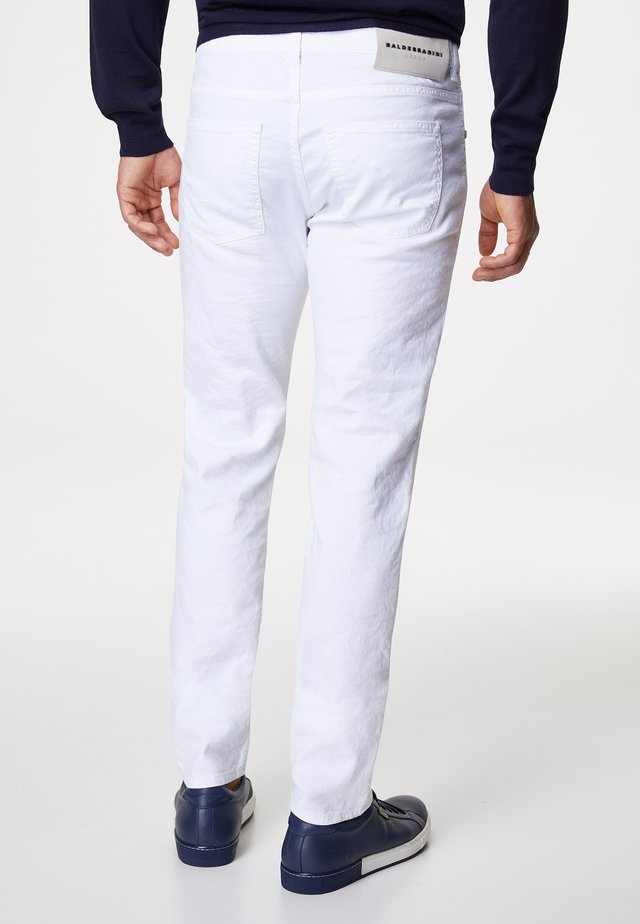 JOHN - Trousers - white