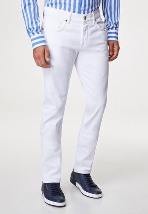 JOHN - Slim fit jeans - white