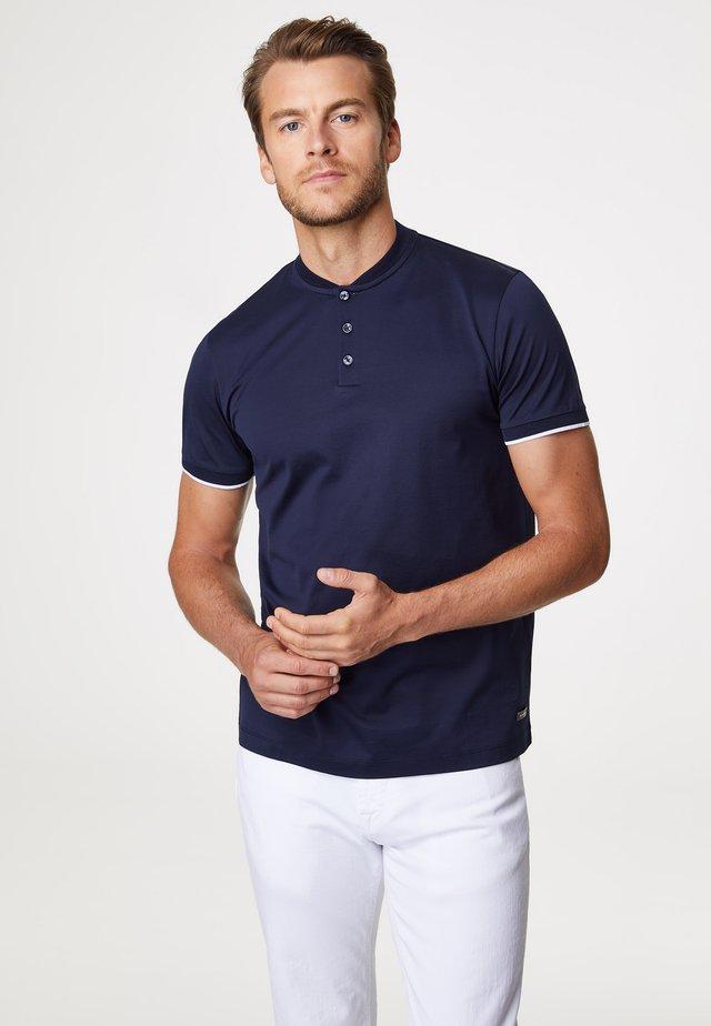 PIERO - T-Shirt print - navy