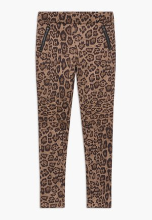 PIPER BIKER  - Legíny - leopard