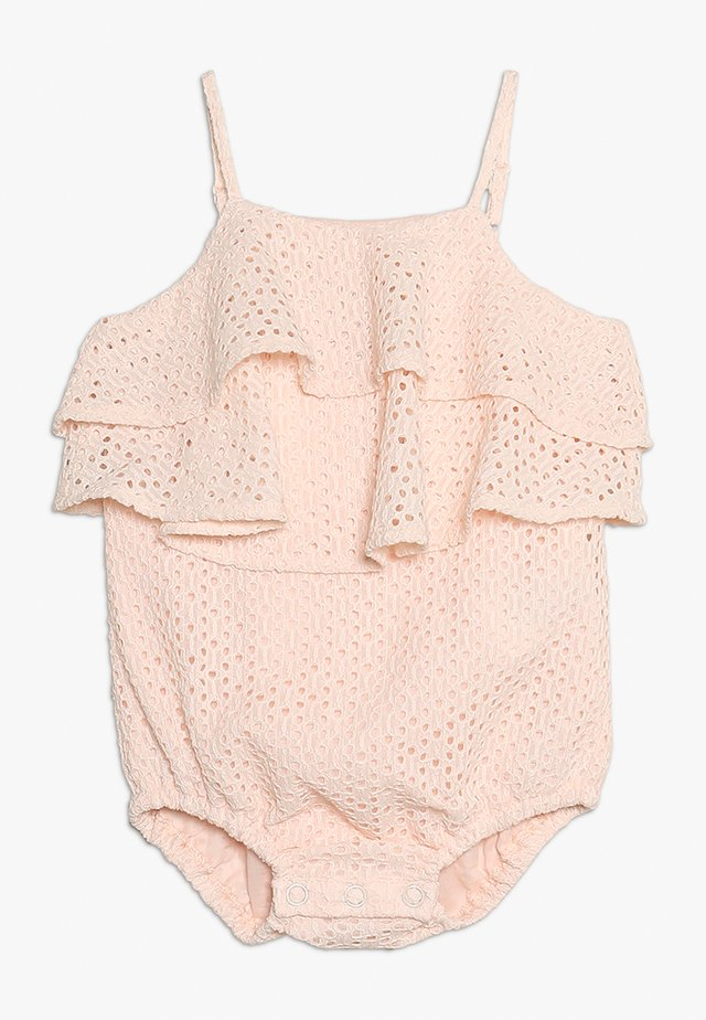 BUBBLE ROMPER BABY - Body - soft pink