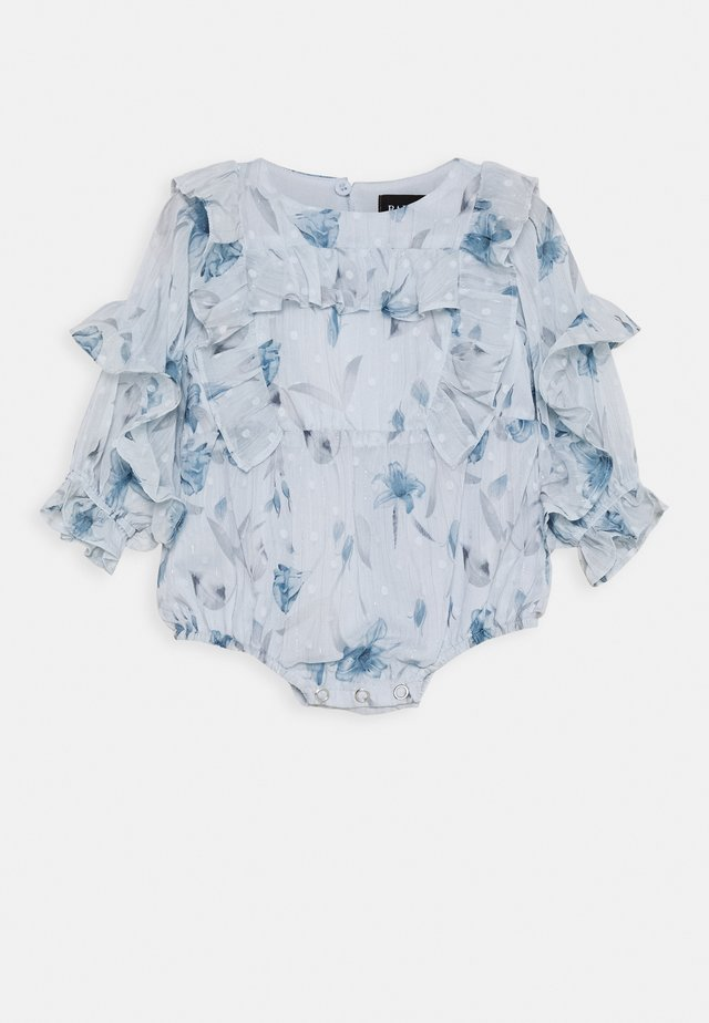 ABBIE RUFFLE GROW - Overall / Jumpsuit /Buksedragter - sky