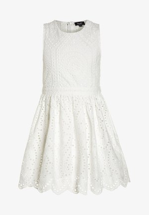 BRODERIE DRESS - Cocktailkleid/festliches Kleid - ivory