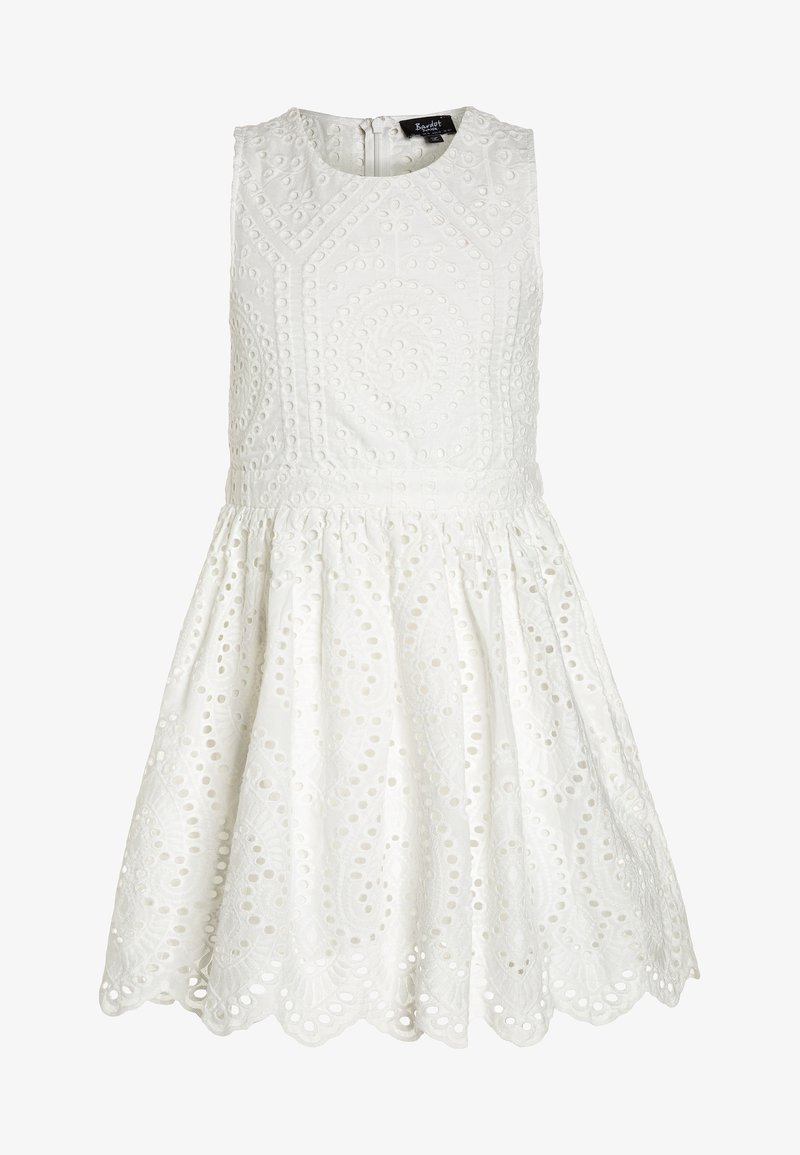 Bardot Junior - BRODERIE DRESS - Vestido de cóctel - ivory
