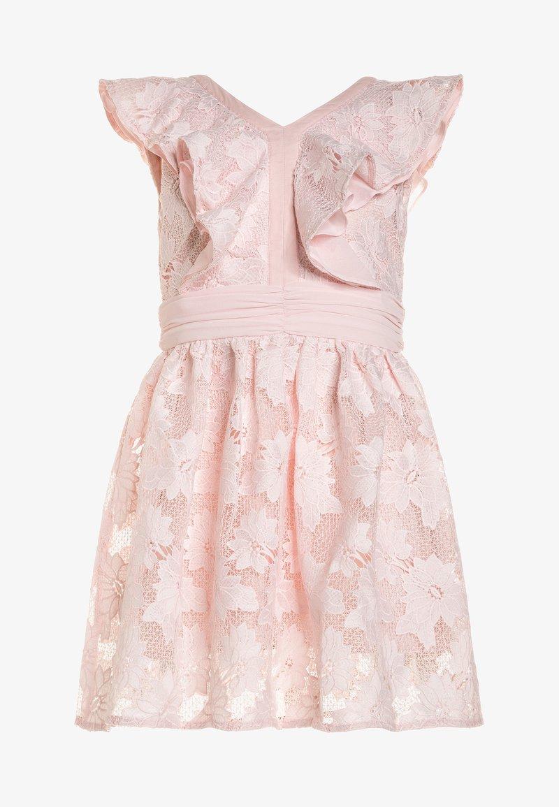 Bardot Junior - FRAYER FRILL DRESS - Cocktail dress / Party dress - soft pink