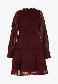 Bardot Junior - LOOP TRIM DRESS - Cocktail dress / Party dress - dark red - 0