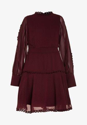 LOOP TRIM DRESS - Robe de soirée - dark red