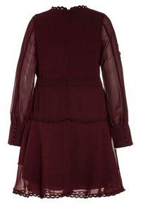 Bardot Junior - LOOP TRIM DRESS - Cocktail dress / Party dress - dark red - 1