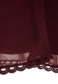 Bardot Junior - LOOP TRIM DRESS - Cocktail dress / Party dress - dark red - 2