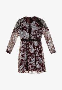 Bardot Junior - IRINA DRESS - Koktejlové šaty/ šaty na párty - dark red - 0