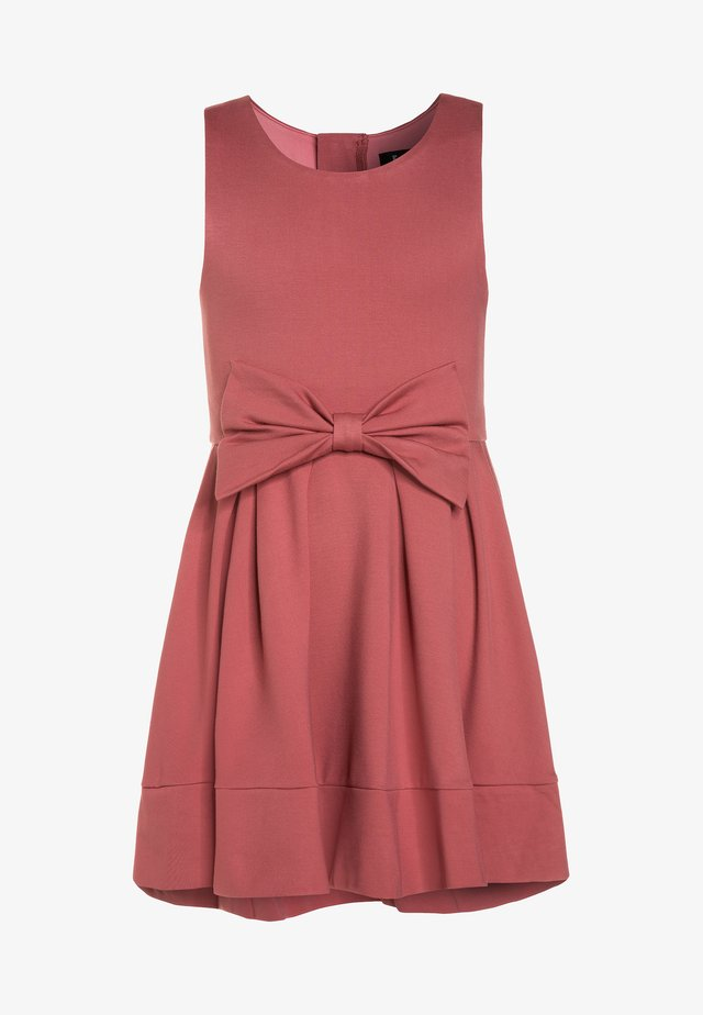 AVA PONTE DRESS - Jerseykleid - rose