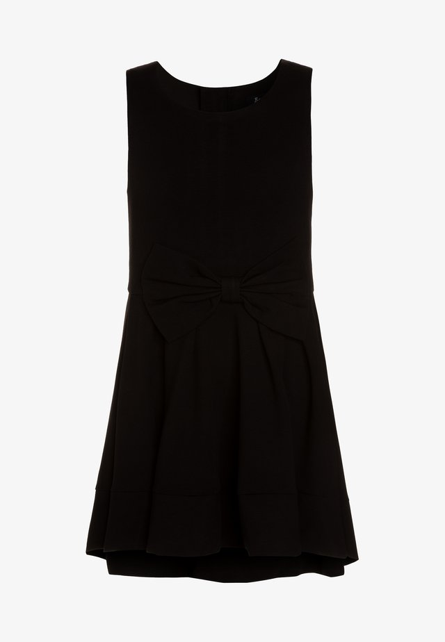 AVA PONTE DRESS - Vestito di maglina - black