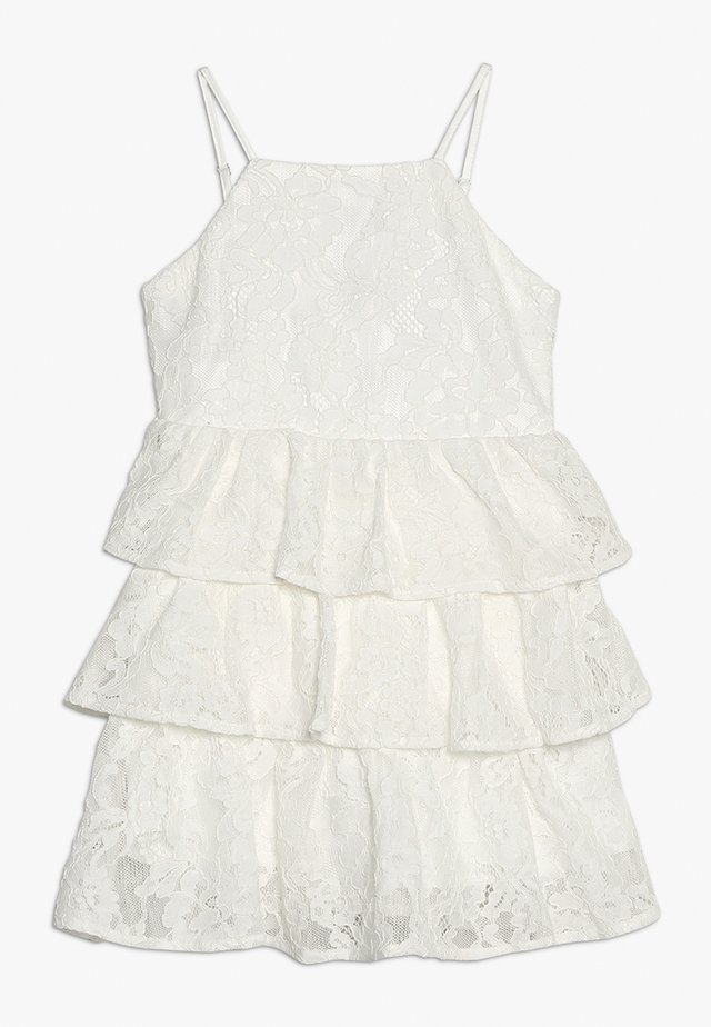 CARTIA TIER DRESS - Juhlamekko - ivory