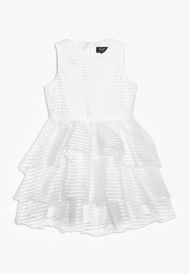 MELBA LINEAR DRESS - Koktejlové šaty/ šaty na párty - ivory