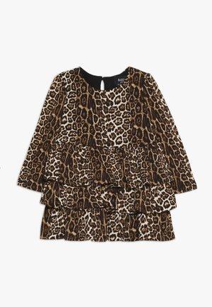 KEIRA DRESS - Jersey dress - light brown