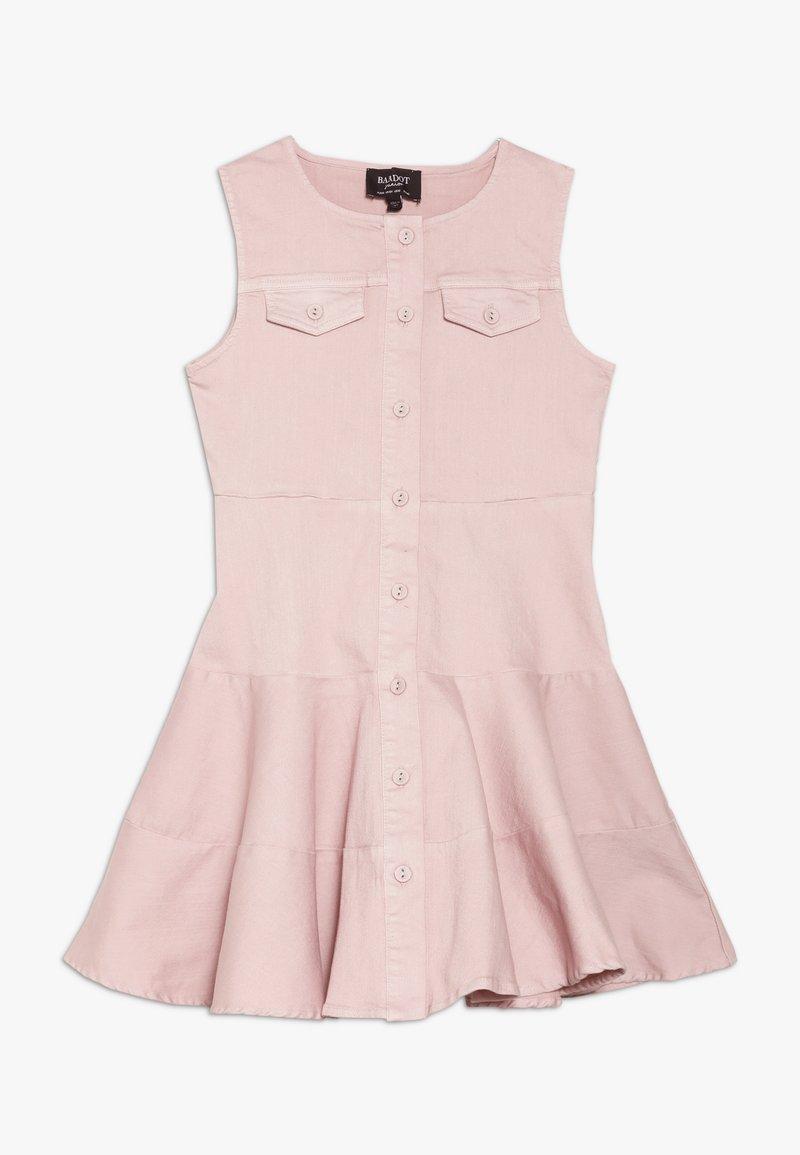 Bardot Junior - MILLY DRESS - Jeansklänning - latte pink