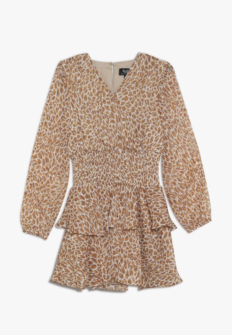 Bardot Junior - RARA SHIRRED DRESS - Koktejlové šaty/ šaty na párty - tan
