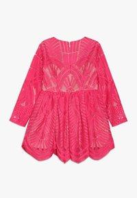 Bardot Junior - EMBROIDED DRESS - Cocktailkleid/festliches Kleid - paradise pink - 1