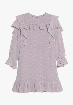 ABBIE RUFFLE DRESS - Vestido de cóctel - lilac