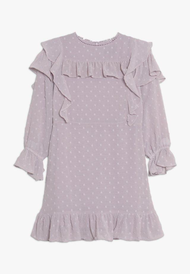 ABBIE RUFFLE DRESS - Vestito elegante - lilac