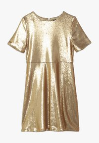 Bardot Junior - SEQUIN DRESS - Koktejlové šaty / šaty na párty - gold - 0