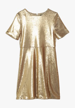 SEQUIN DRESS - Robe de soirée - gold