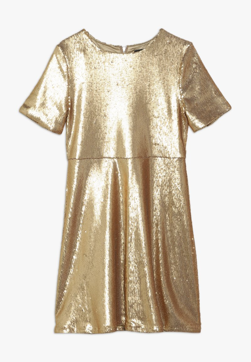 Bardot Junior - SEQUIN DRESS - Koktejlové šaty / šaty na párty - gold