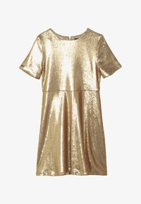 Bardot Junior - SEQUIN DRESS - Koktejlové šaty / šaty na párty - gold - 3