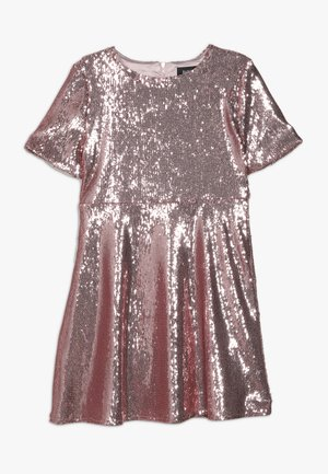 SEQUIN DRESS - Cocktail dress / Party dress - silver pink