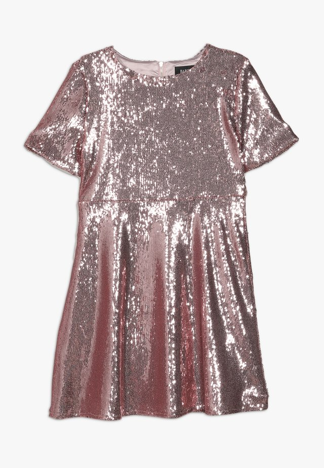 SEQUIN DRESS - Juhlamekko - silver pink