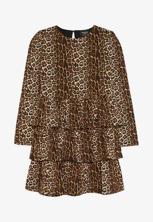 KEIRA DRESS - Day dress - brown
