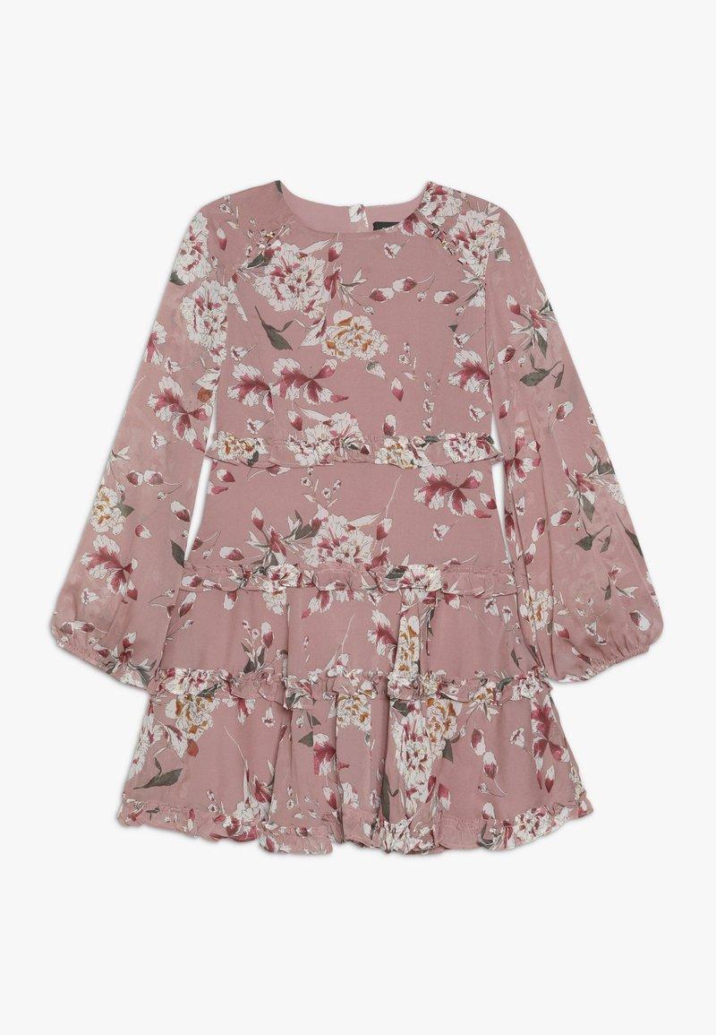 Bardot Junior - FLORAL FRILL DRESS - Korte jurk - rose