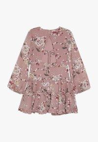 Bardot Junior - FLORAL FRILL DRESS - Korte jurk - rose - 1