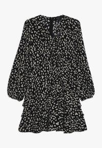 Bardot Junior - CASSIDY WRAP DRESS - Denní šaty - black - 0