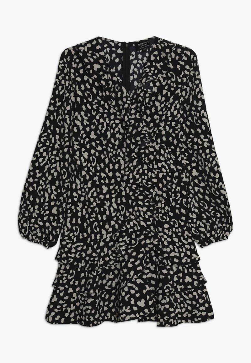 Bardot Junior - CASSIDY WRAP DRESS - Denní šaty - black