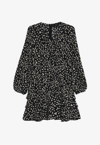 Bardot Junior - CASSIDY WRAP DRESS - Denní šaty - black - 3