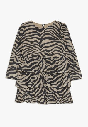 ZEBRA RARA DRESS - Jersey dress - tan
