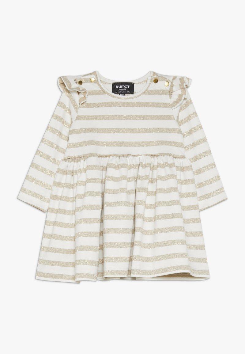 Bardot Junior - DRESS - Jerseyjurk - gold