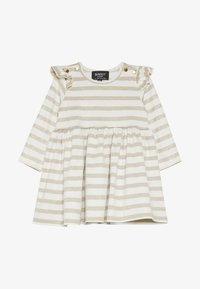 Bardot Junior - DRESS - Jerseyjurk - gold - 2