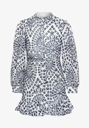 PARA FRONT DRESS - Robe d'été - navy