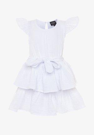 EDNA RUFFLE DRESS - Koktejlové šaty/ šaty na párty - ivory