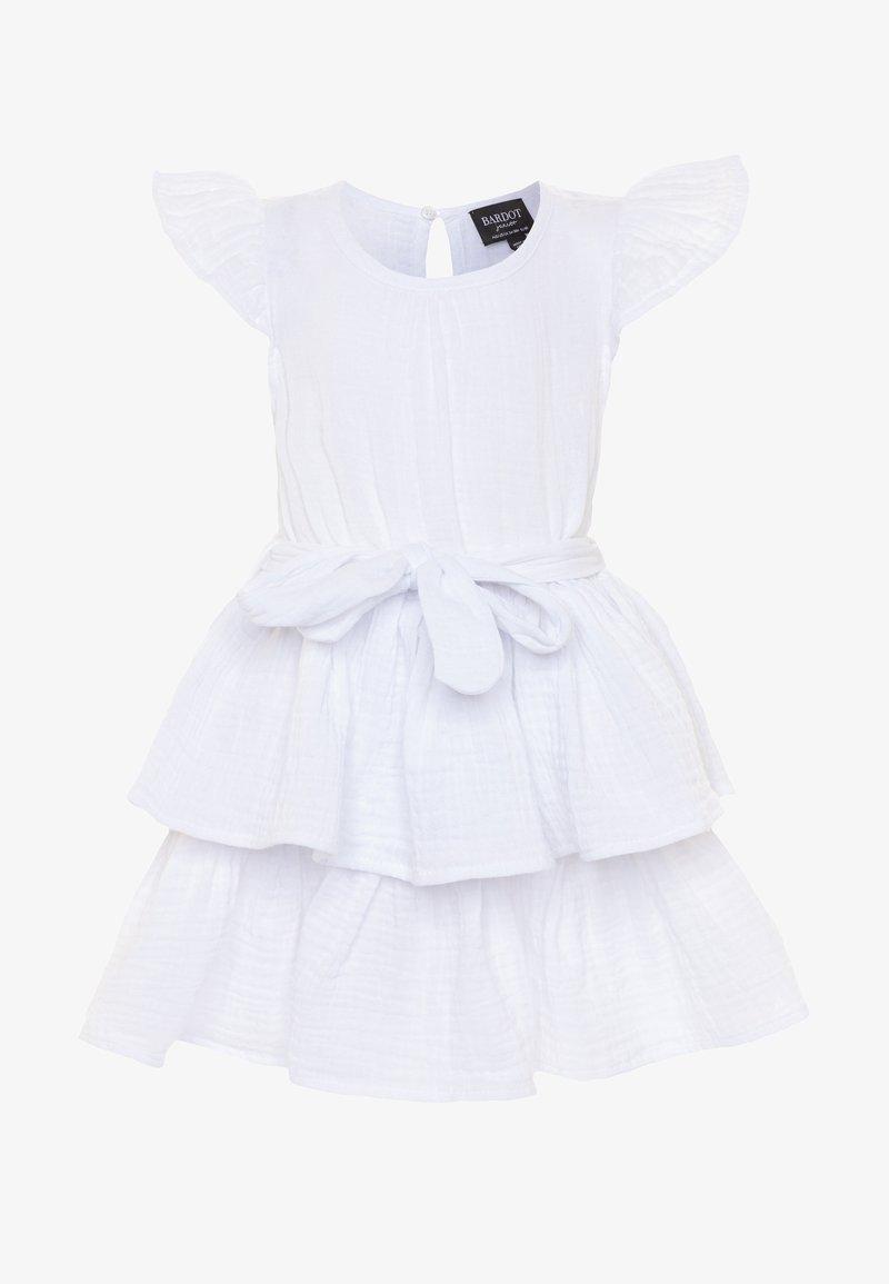 Bardot Junior - EDNA RUFFLE DRESS - Koktejlové šaty/ šaty na párty - ivory
