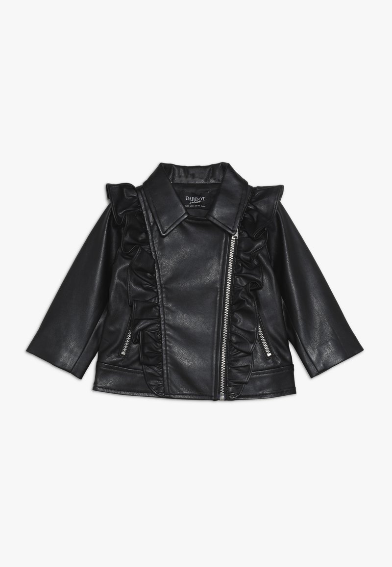 Bardot Junior - JACKET - Kunstlederjacke - black