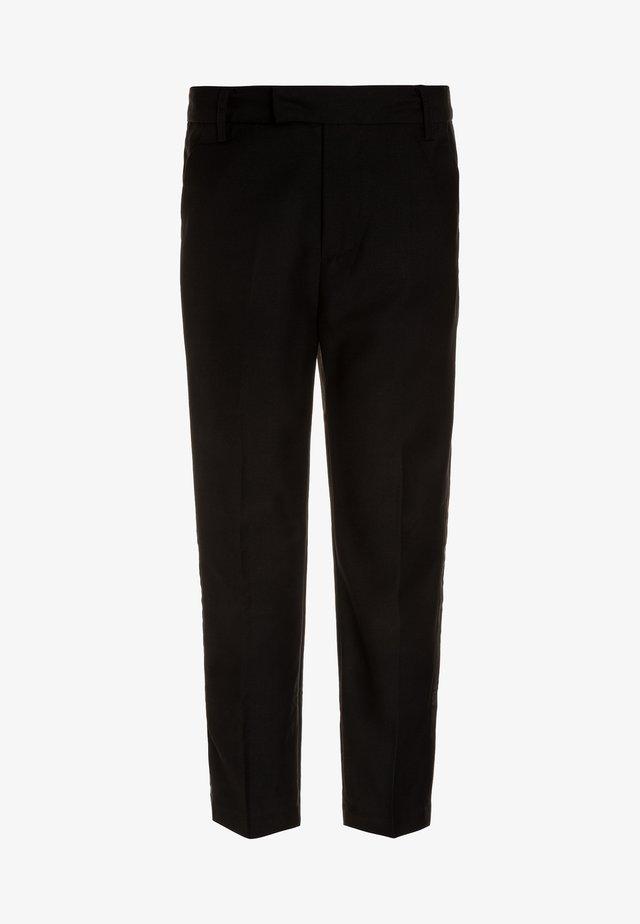 TUX PANT - Trousers - jet black