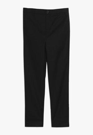 OSCAR SUIT PANT - Oblekové kalhoty - black