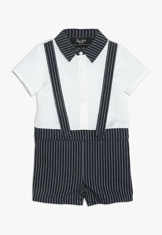 NELSON  GROW BABY - Jumpsuit - navy/white stripe
